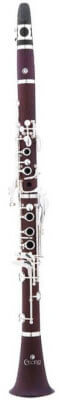 Cecilio CT-380 Solid Rosewood Bb Intermediate B-Flat Clarinet