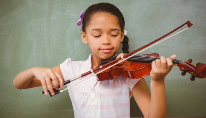 violin playing benefits for kids