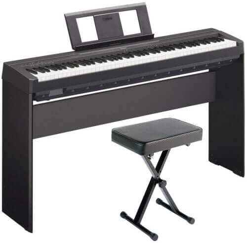 Yamaha P-45 with L-85 furniture stand