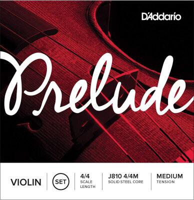 D'Addario J810 4/4M Prelude Violin String Set