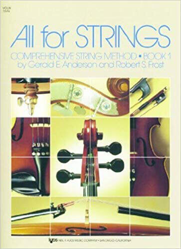 All For Strings violin book