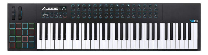 Alesis VI61 MIDI Keyboard and Drum Pad Controller