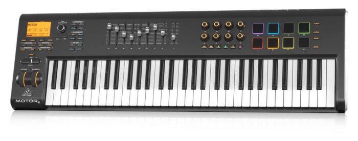Behringer MOTOR 61 MIDI Keyboard Controller