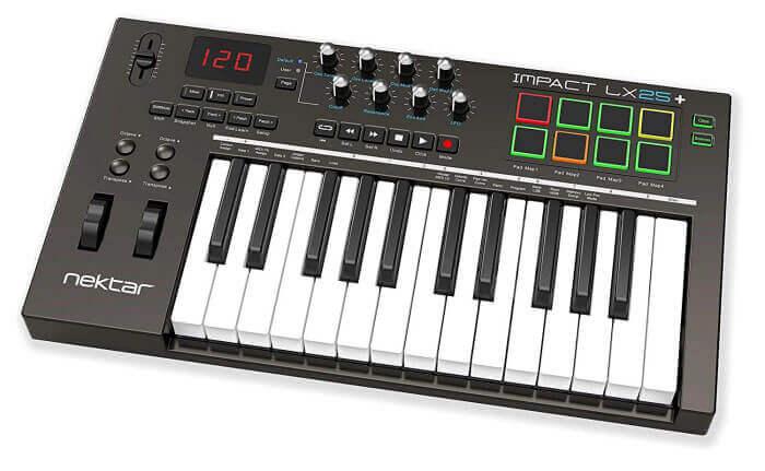Nektar Impact LX25 Plus Controller Keyboard