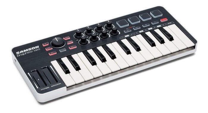 Samson Graphite M25 Mini USB MIDI Controller