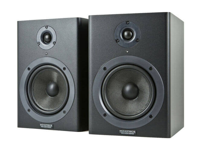 Monoprice Stage Right Studio Monitor Speakers