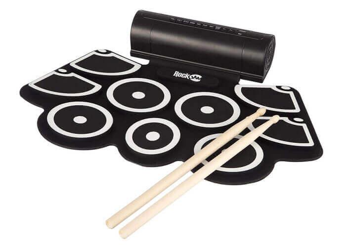 RockJam RJ760MD Electronic Roll Up Drum Kit