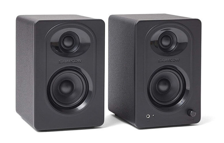 Samson MediaOne M30 Powered Studio Monitors