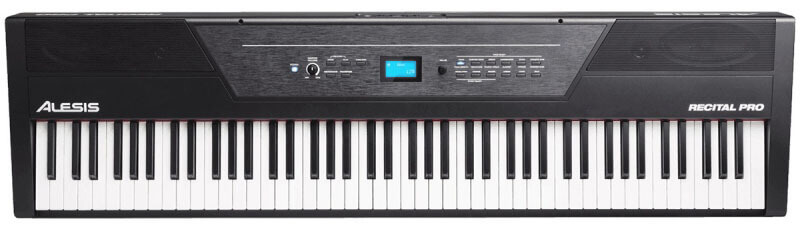 Alesis Recital Pro Digital Piano Keyboard