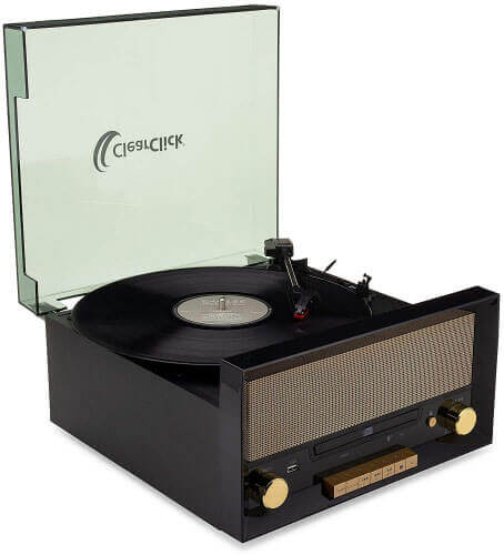 ClearClick TT54 All-in-One Turntable