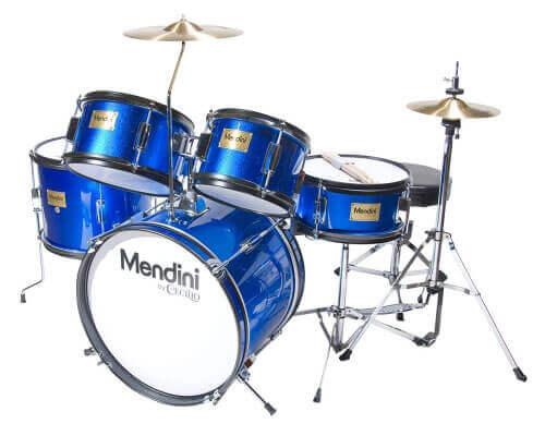 Mendini by Cecilio 5-Piece Junior Drum Set