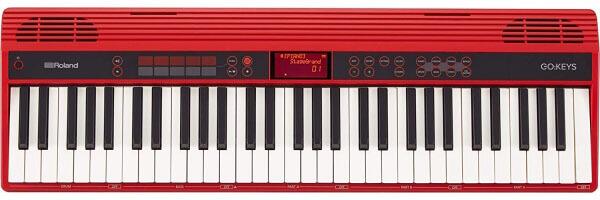 Roland GO:KEYS (GO-61K) Music Creation Keyboard