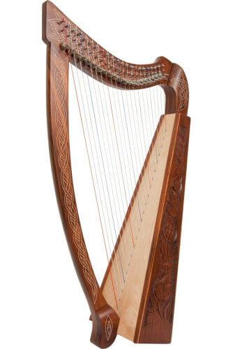Roosebeck Heather 22-String Harp