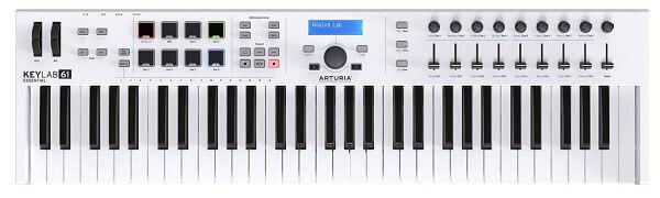 Arturia KeyLab Essential 61 MIDI Controller Keyboard
