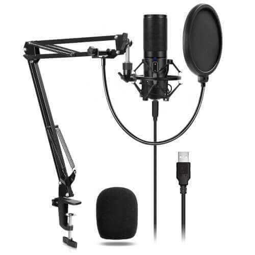 Tonor Q9 USB Condenser Mic (kit)