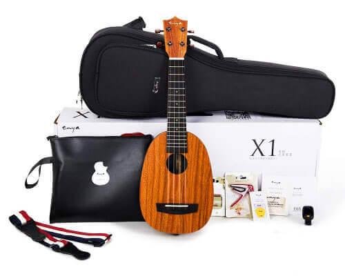 Enya Pineapple Soprano Ukulele Kit
