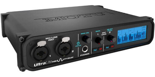 MOTU UltraLite Mk4 USB Audio Interface