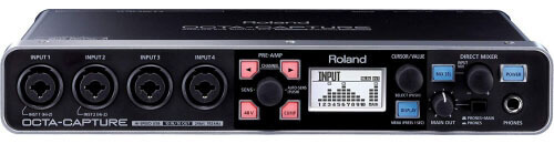 Roland Octa-Capture UA-1010 USB Audio Interface