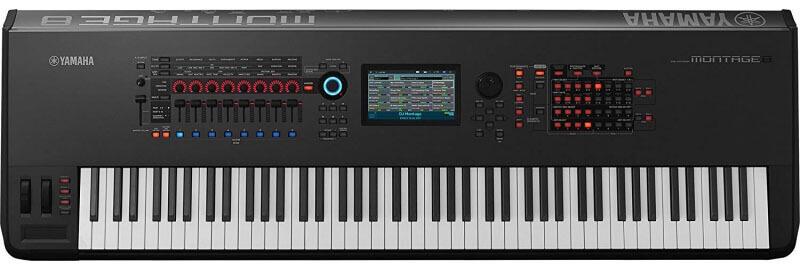 Yamaha Montage8 Synthesizer Workstation