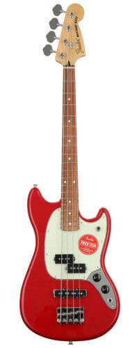 Fender Mustang PJ Bass (Torino Red)