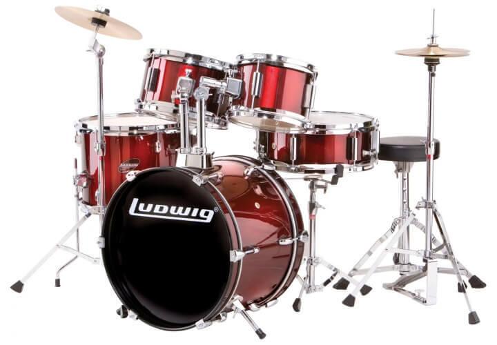 Ludwig 5-Piece Junior Drum Set