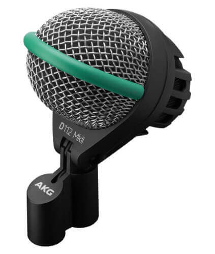 AKG D112 MkII Professional dynamic bass drum microphone