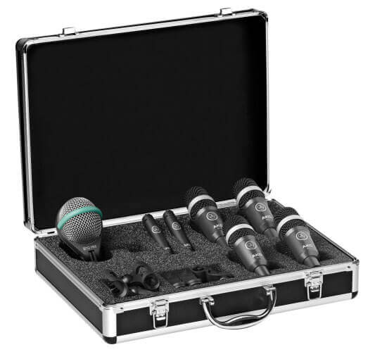 AKG Drum Set Concert I Professional Drum Mic Set