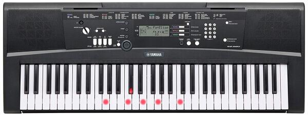 Yamaha EZ-220 61-Key Portable Keyboard