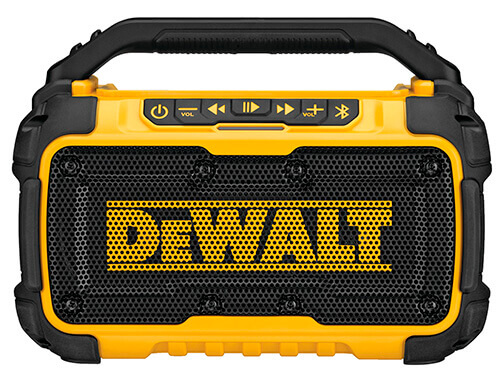 DeWalt DCR010 jobsite Bluetooth speaker
