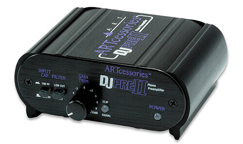ART DJPRE II Phono Preamplifier