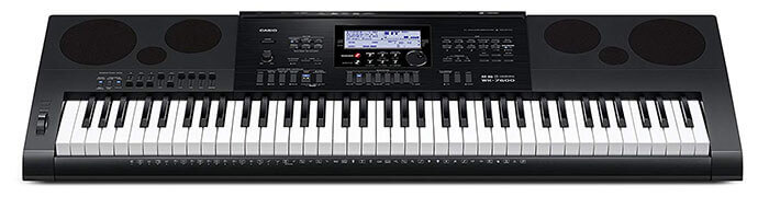Casio WK-7600 76-Key Arranger Workstation