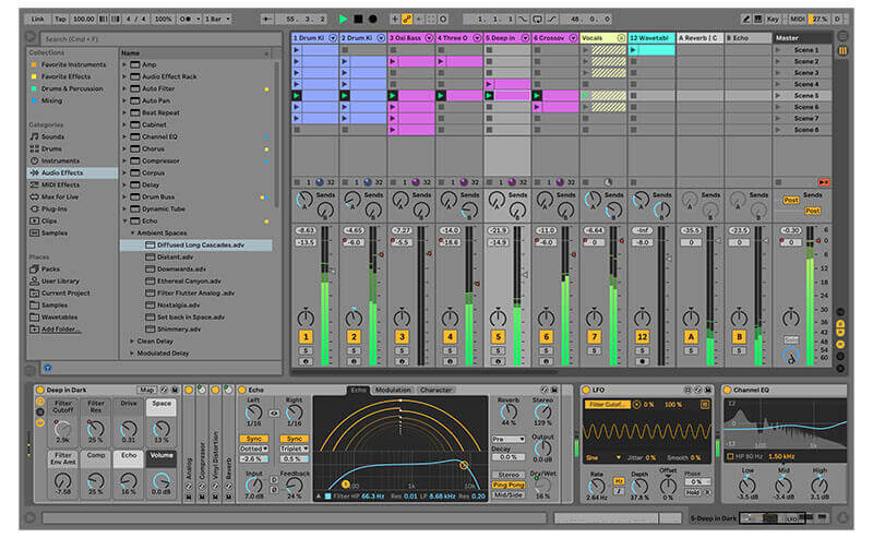 Ableton Live DAW Software