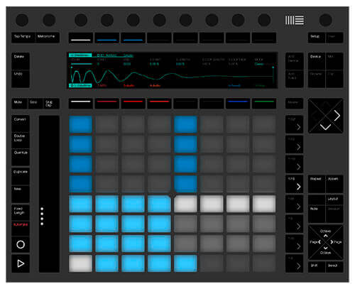 Ableton Push 2 Drum Pad Controller