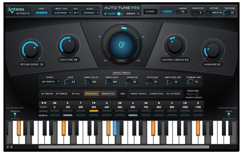 Antares Auto-Tune Pro Vocal Autotune VST Plugin