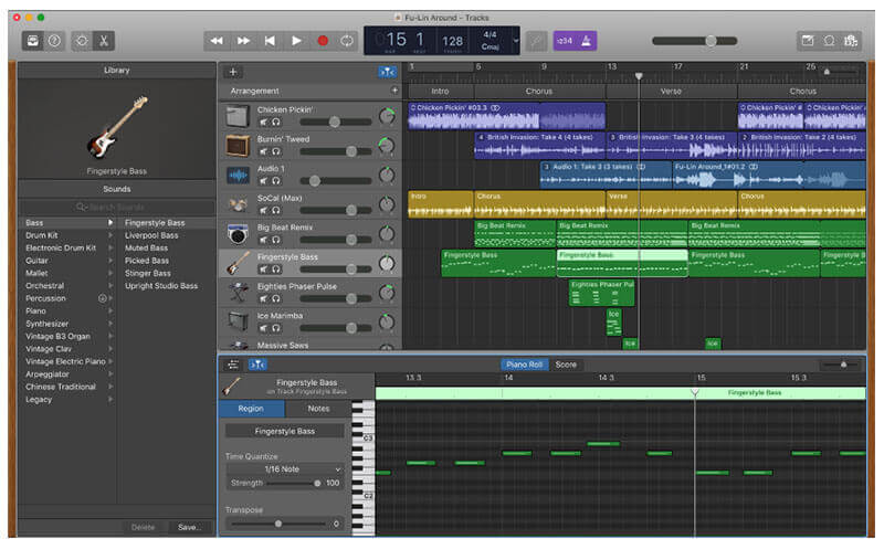 Apple GarageBand DAW Music Making Software