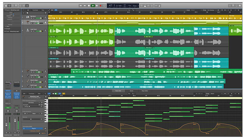 Apple Logic Pro X DAW Music Software