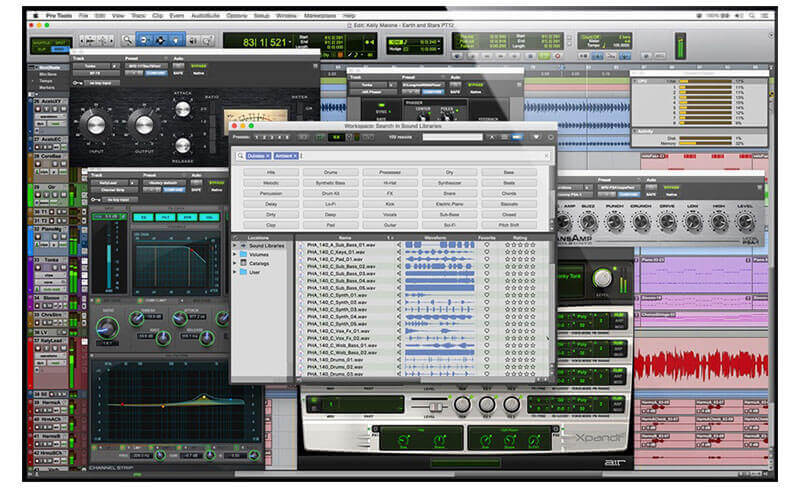 Avid Pro Tools DAW Music Production Software