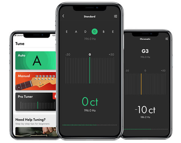 Fender Tune guitar app