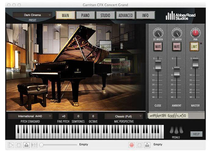 Garritan Abbey Road Studios CFX Concert Grand Virtual Instrument