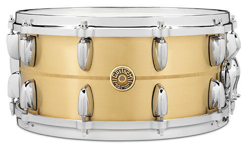 Gretsch Drums USA Bell Brass Snare Drum