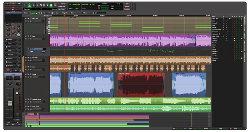 Harrison Mixbus DAW Music Production Software