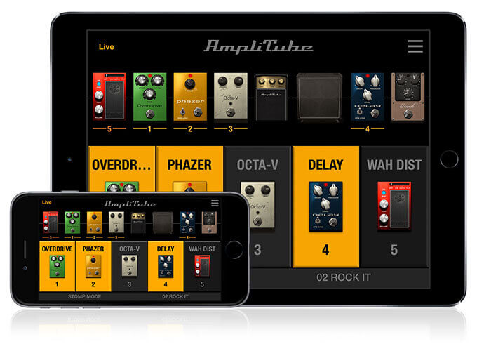 IK Multimedia AmpliTube app for iPhone and iPad