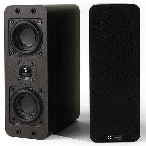 Micca OoO Bookshelf and Center Channel Speaker