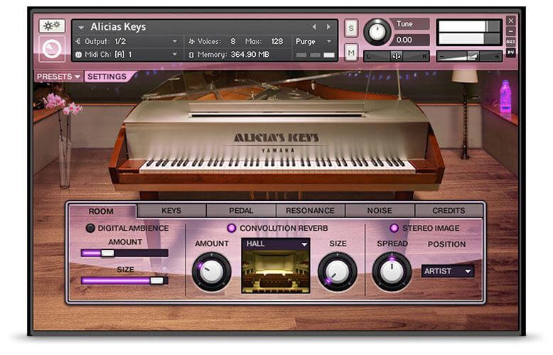 Native Instruments Alicia's Keys Piano VST Plugin
