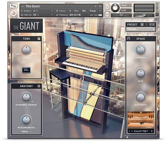 Native Instruments The Giant Piano Plugin