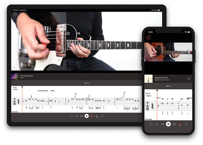 Play Guitar Hits learning app