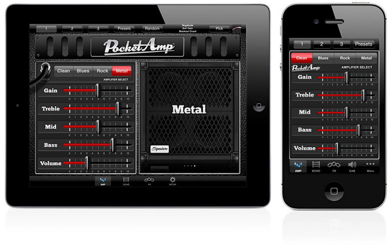 PocketAmp guitar app