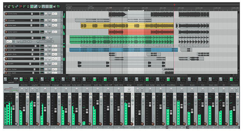 Reaper DAW Music Production Software