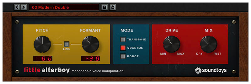 Soundtoys Little AlterBoy Vocal Processing Plugin