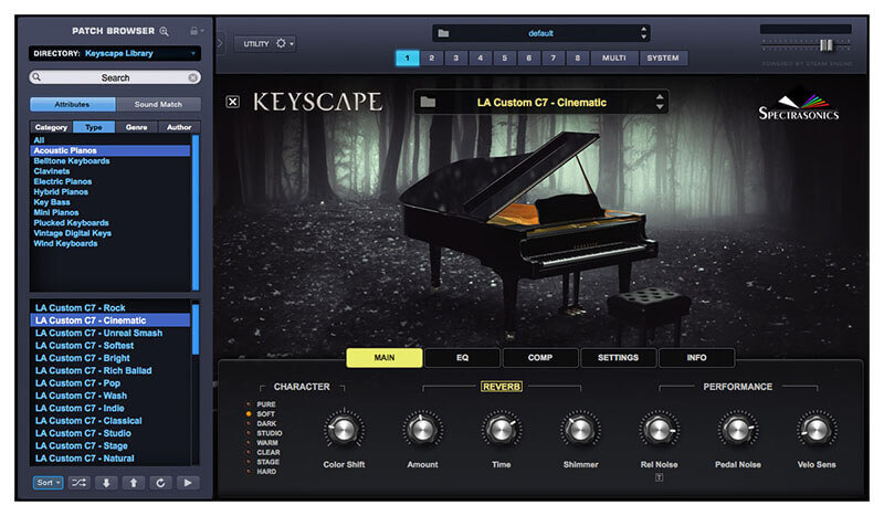 Spectrasonics Keyscape Virtual Keyboard Instrument Plugin